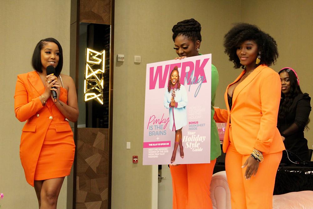The women of the Werk Pray Slay brand.