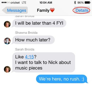 FAMILY GROUP TEXTS: HELPFUL OR ANNOYING?