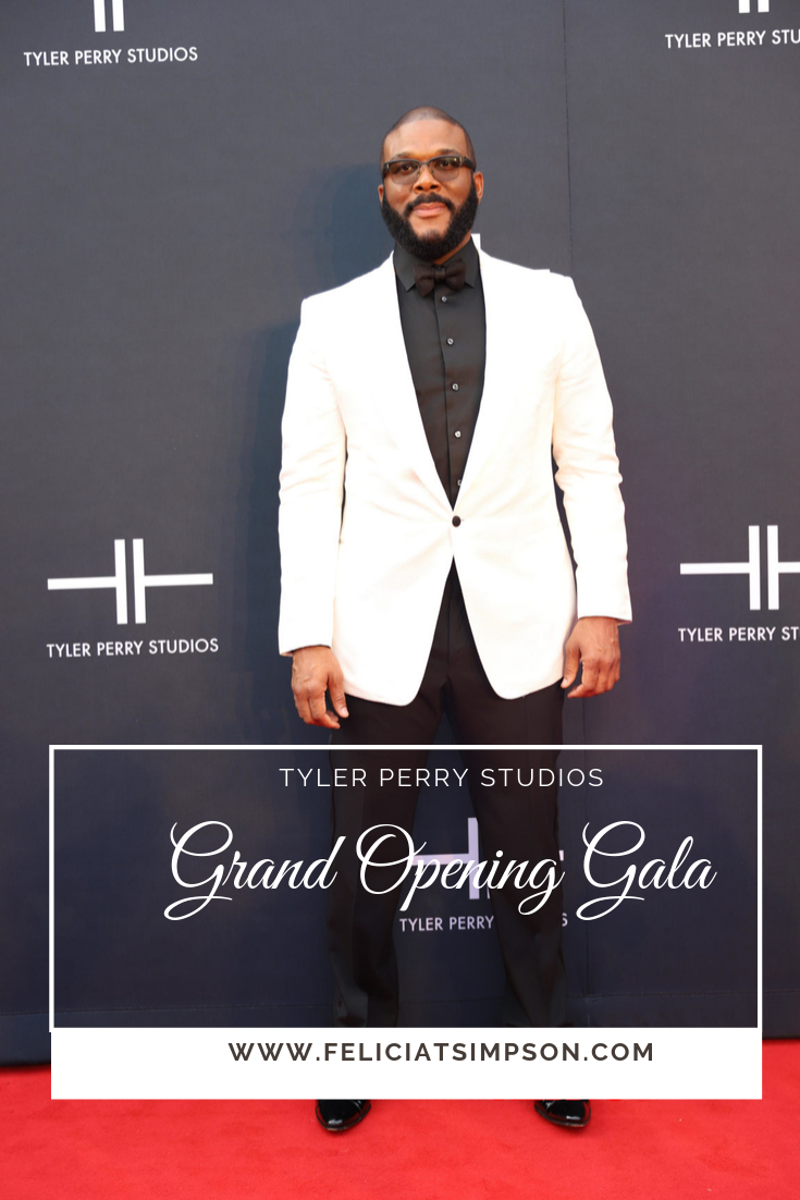 Tyler Perry at his studio grand opening gala