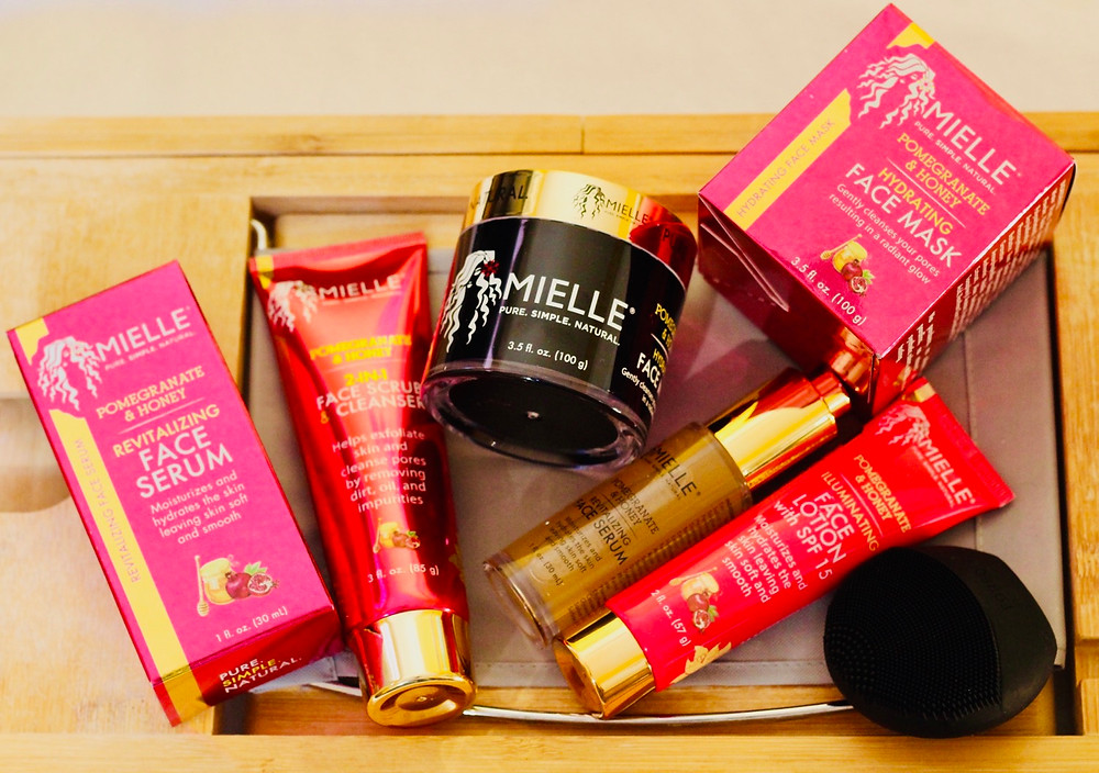 Mielle Organics skin care products