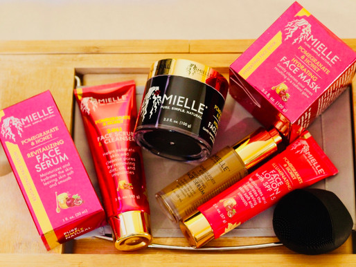 Mielle Organics: Pomegranate & Honey Skin Care Collection