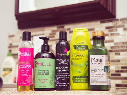 My Favorite Shampoos on Wash Day