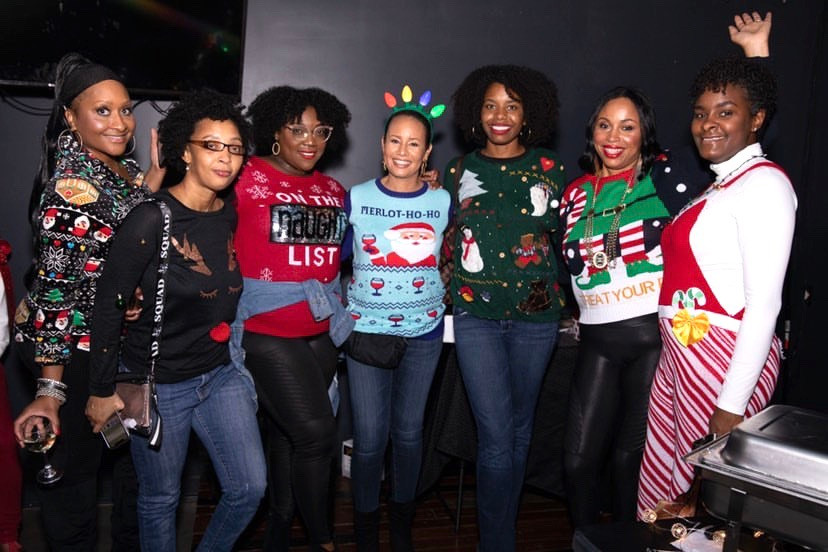 Ugly Sweater + Girls Night Out event 2019