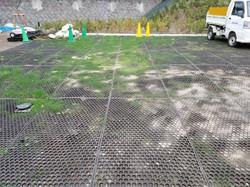 通路・駐車場 泥濘対策