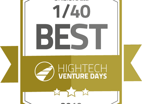 We're happy to announce that UniSieve got selected as one of the 40 best European Hightech Startups