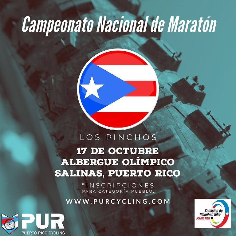 Campeonato Nacional de Maratón- Albergue - Pinchos