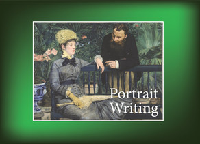 Portrait Writing: In the Conservatory