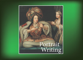 Portrait Writing: Enjoying Coffee