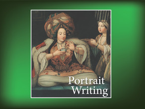 Portrait Writing: Enjoying Coffee