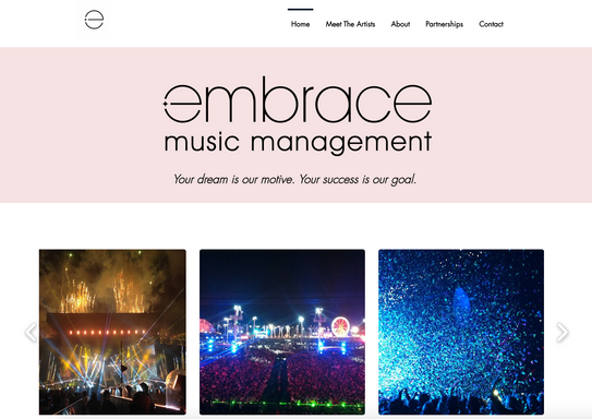 Embrace Music Management