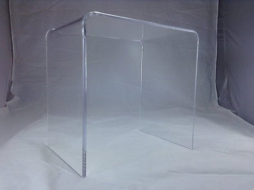 Clear Acrylic Shower Bench