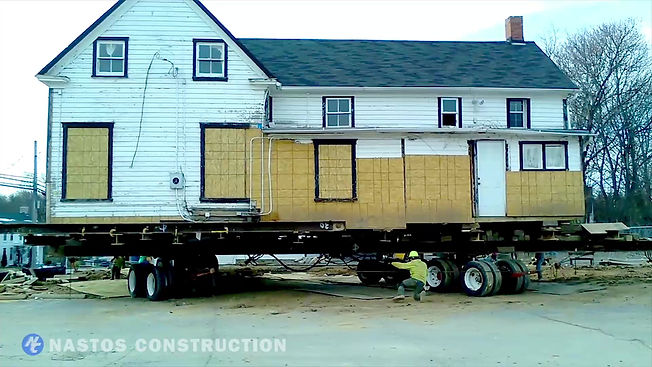 HISTORICAL HOUSE MOVE