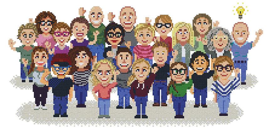 pixel arts pixelhoby prsoneel