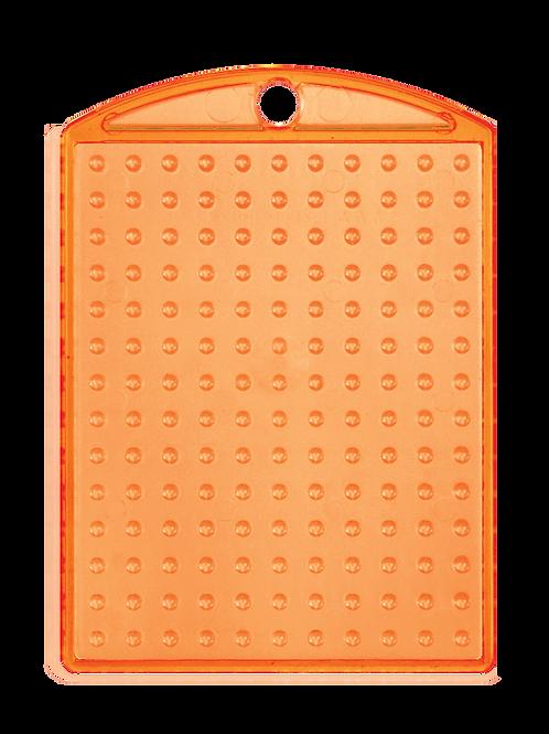 Pixelhobby medaillon transparant oranje