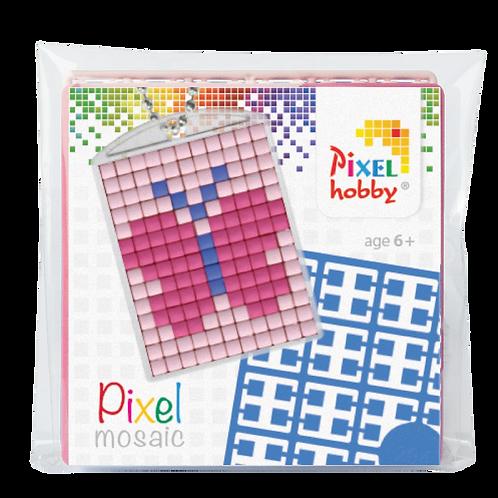 Pixel key-ring set Vlinder