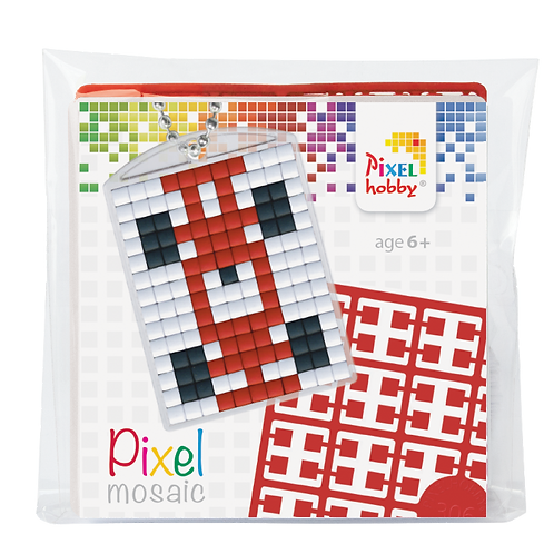 Pixel key-ring set Raceauto