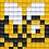 Thumbnail: Pixel key-ring set Bij