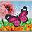 Thumbnail: Pixel XL 4 basisplaten Vlinder roze