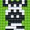 Thumbnail: Pixel key-ring set Zebra