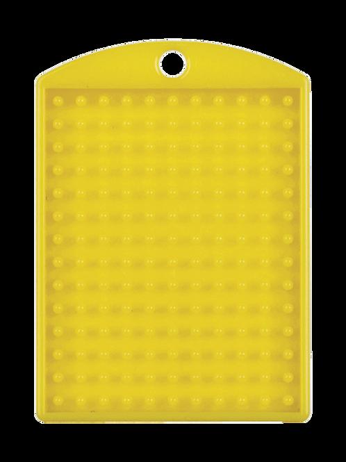 Pixelhobby medaillon geel