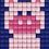 Thumbnail: Pixel key-ring set Varken