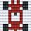 Thumbnail: Pixel key-ring set Raceauto