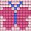 Thumbnail: Pixel key-ring set Vlinder