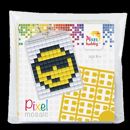 Pixel key-ring set Smiley