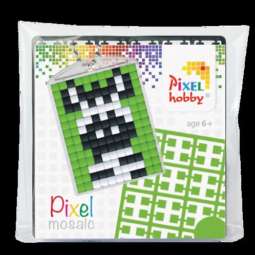 Pixel key-ring set Zebra