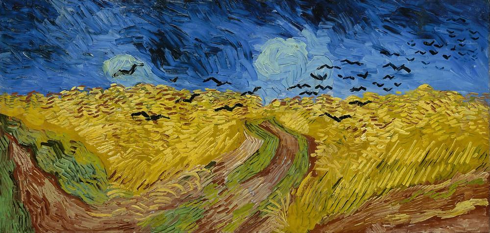 Wheatfield with Crows - Van Gogh