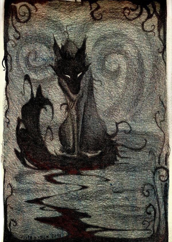 Spectral Hound (Artist Unknown)