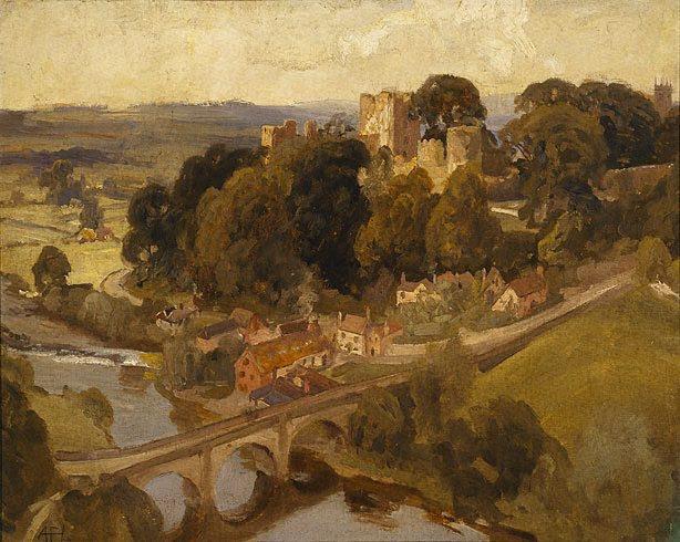 Ludlow Castle - Henry Fulwood (1912)