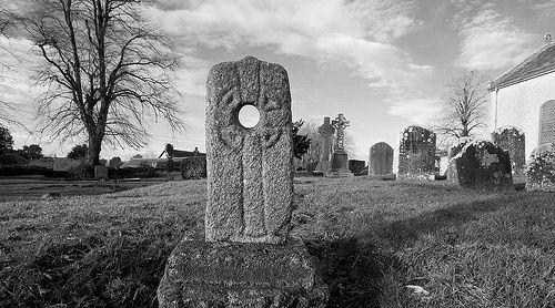 Hag Stone or Druid's Glass
