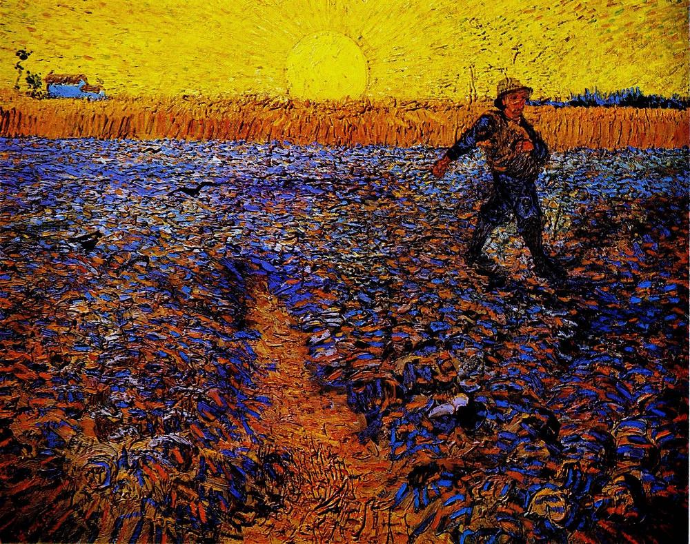 The Sower - Van Gogh