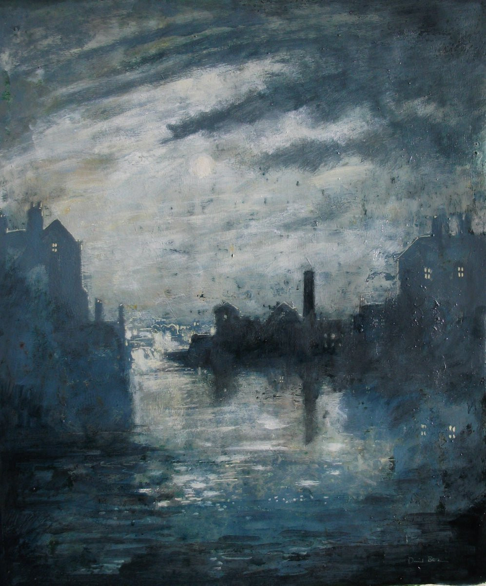 Painting by the artist David Bez