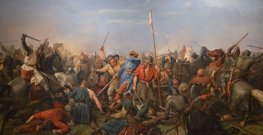 Battle of Stamford Bridge by Peter Nicolai Arbo (Norway)