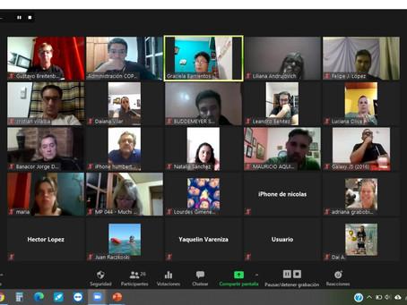 Reunión con Profesionales de Apóstoles y Puerto Iguazú