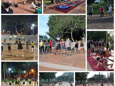 1° Jornada del Mes de la Actividad Física llevada a cabo en Puerto Rico
