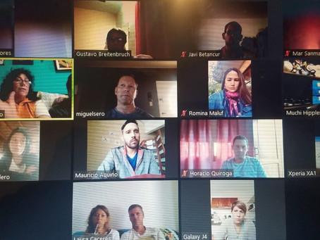2da reunión virtual de profesores