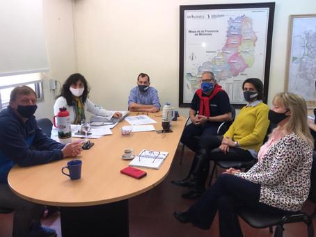 Reunión con Autoridades del Ministerio de Salud