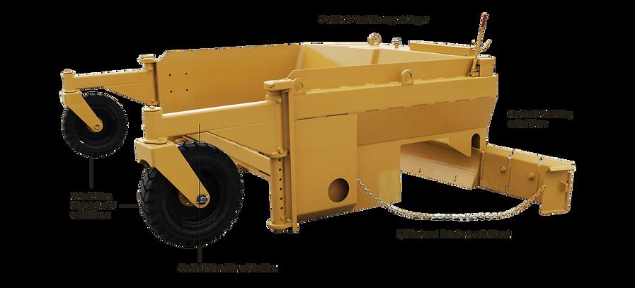 R600C aggregate base spreader for road construction