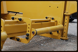 Push rollers for R600C aggregate gravel spreader