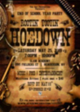 EOY2019 - Wanted Western Invitation-2-1.