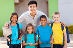 canstockphoto15080595 (Teacher and Students)