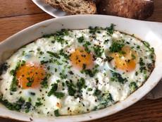 Shirred Egg