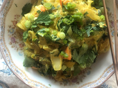 Mung Bean Noodles with Vegetables