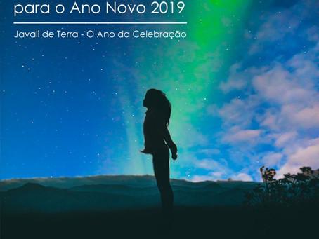 VIVÊNCIA de Alinhamento para o Ano Novo 2019 - Javali de Terra, o Ano da Celebração!