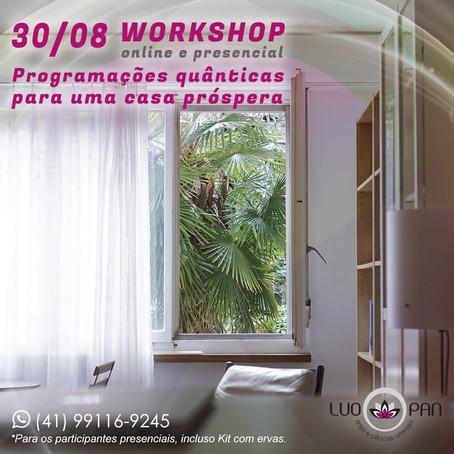 2a edição Workshop: Programações Quânticas para uma Casa Próspera.