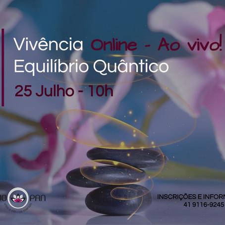 Vivência: Equilíbrio Quântico - Online