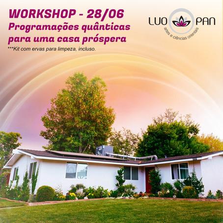 Workshop: Programações Quânticas para uma Casa Próspera.